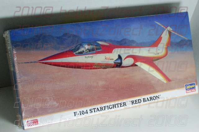 1:72 F-104 Starfighter 'Red Baron' by Hasegawa
