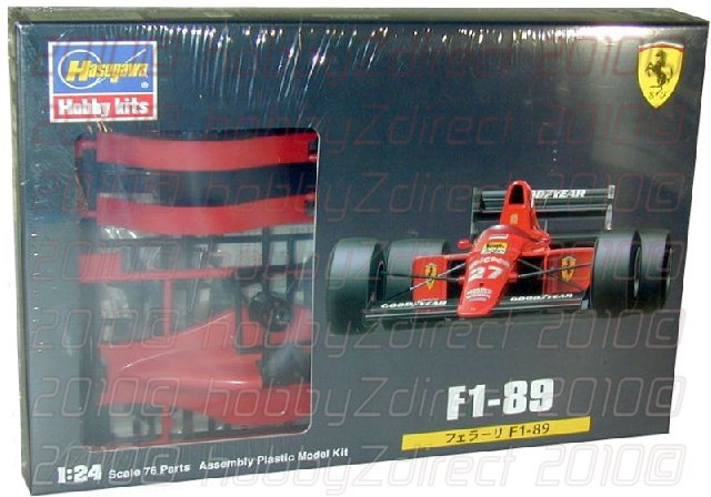 Ferrari F1-89 1/24 Scale Model Kit
