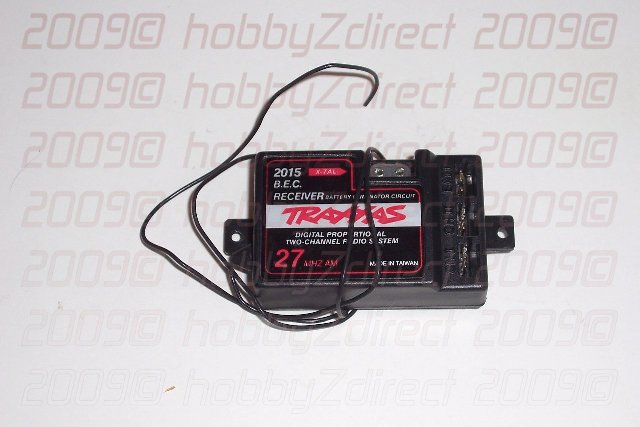 27 MHz Receiver w/BEC by Traxxas